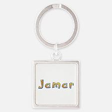 Jamar Giraffe Square Keychain