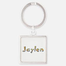 Jaylen Giraffe Square Keychain