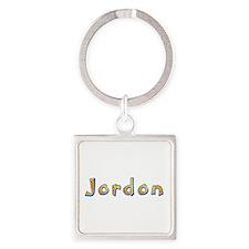Jordon Giraffe Square Keychain