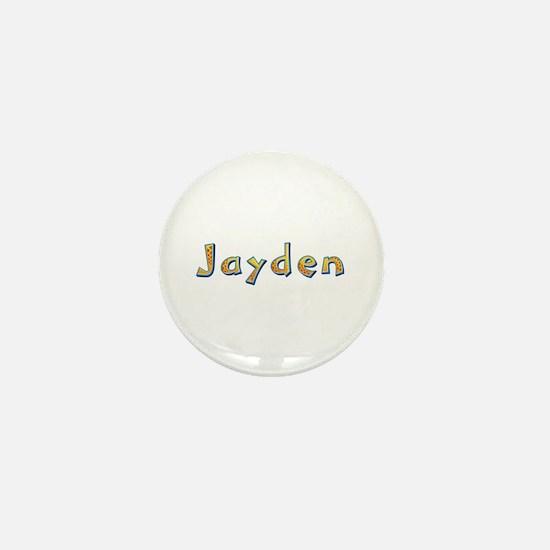Jayden Giraffe Mini Button
