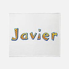 Javier Giraffe Throw Blanket