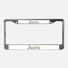 Jairo Giraffe License Plate Frame