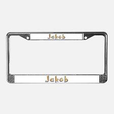 Jakob Giraffe License Plate Frame