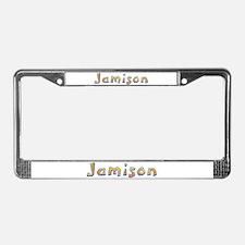 Jamison Giraffe License Plate Frame