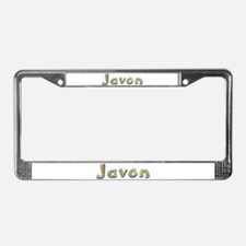 Javon Giraffe License Plate Frame