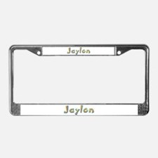 Jaylon Giraffe License Plate Frame