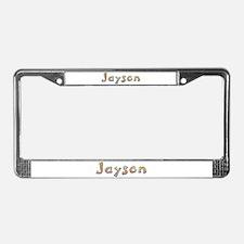 Jayson Giraffe License Plate Frame