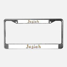 Josiah Giraffe License Plate Frame