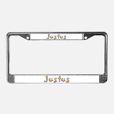 Justus Giraffe License Plate Frame