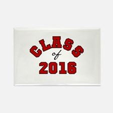 Class of 2016 Red Rectangle Magnet (10 pack)