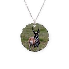 Pronghorn by in Meadow Necklace