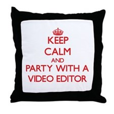 Keep Calm and Party With a Video Editor Throw Pill