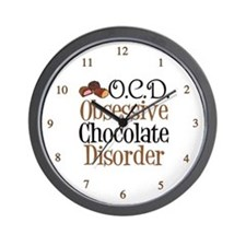 Cute Chocolate Wall Clock