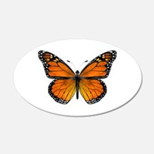 Monarch Butterfly 20X12 Oval Wall Decal