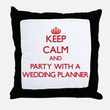 Keep Calm and Party With a Wedding Planner Throw P