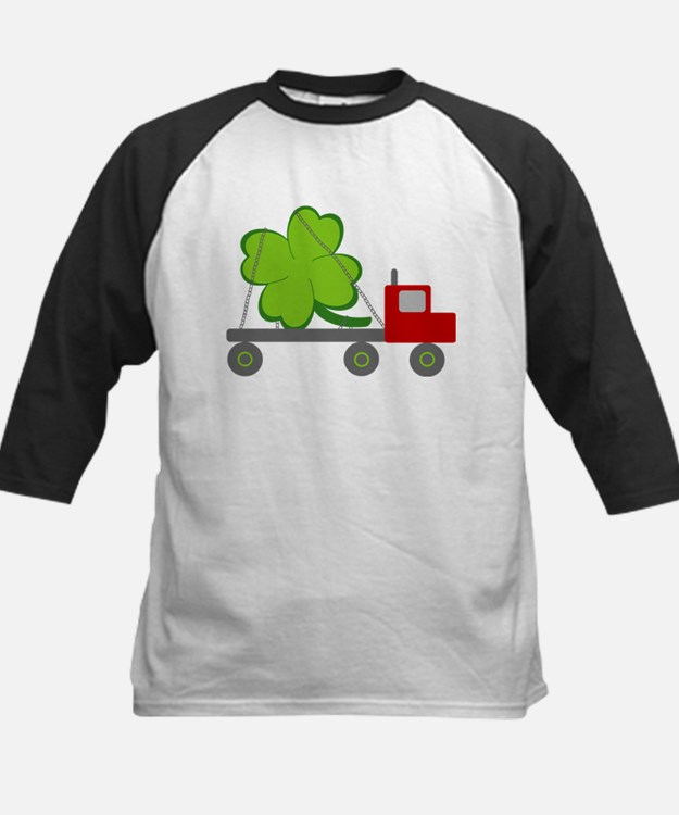 st patricks day delivery for black Baseball Jersey