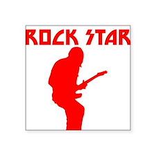 Red Rock Star Sticker