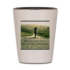 Image With A Mean Shot Glass