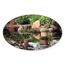 Japanese garden pond 2 Decal