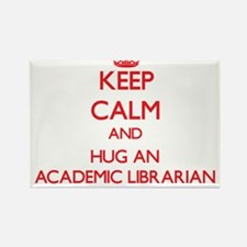 Keep Calm and Hug an Academic Librarian Magnets