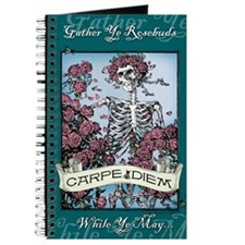 Carpe Diem Skeleton Journal