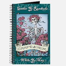 Carpe Diem Skeleton Journal