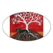 Dachshund Tree of Life Decal