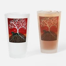 Dachshund Tree of Life Drinking Glass