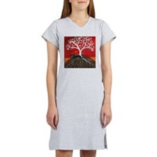 Dachshund Tree of Life Women's Nightshirt