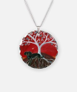 Dachshund Tree of Life Necklace