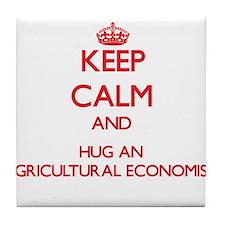 Keep Calm and Hug an Agricultural Economist Tile C
