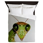 Preying Mantis Eyes Queen Duvet