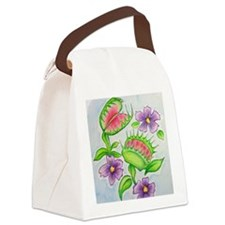 Venus Fly Trap Canvas Lunch Bag