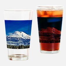 Mt Shasta Beauty Drinking Glass