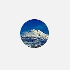 Mt Shasta Beauty Mini Button