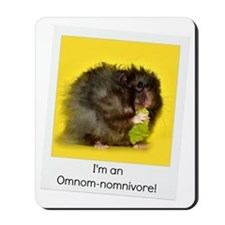 Omnivore Hamster Mousepad