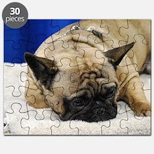 Sleeping French Bulldog Puzzle