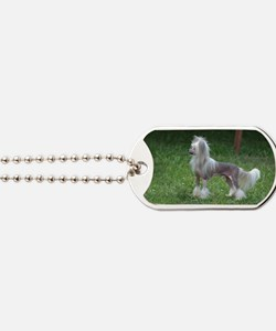 Small Chinese Crested Dog Dog Tags
