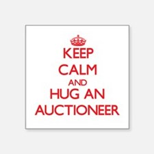 Keep Calm and Hug an Auctioneer Sticker