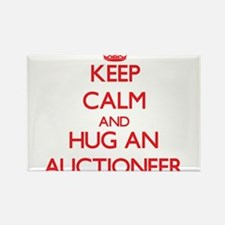 Keep Calm and Hug an Auctioneer Magnets