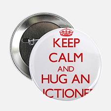 "Keep Calm and Hug an Auctioneer 2.25"" Button"