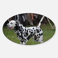 Fire Dog Sticker (Oval)