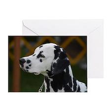 Sweet Dalmatian Greeting Card