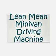 Minivan Mom Rectangle Magnet (100 pack)