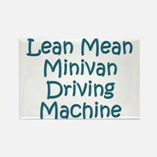 Minivan Mom Rectangle Magnet (10 pack)