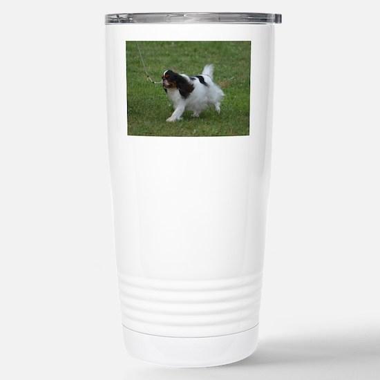 Japanese Chin Dog Stainless Steel Travel Mug