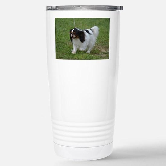 Japanese Spaniel Dog Stainless Steel Travel Mug