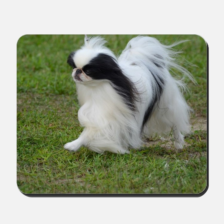 Japanese Chin Puppy Mousepad