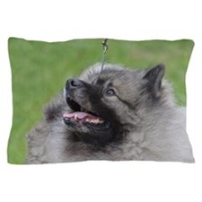Fluffy Keeshond Pillow Case