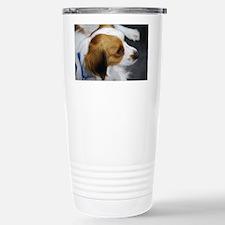 Brown and White Kooiker Stainless Steel Travel Mug